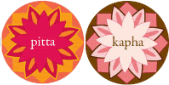 Pitta and Kapha doshas / skin types