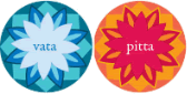 Vata and Pitta doshas / skin types