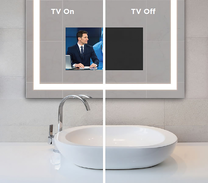 B-Series TV on and off