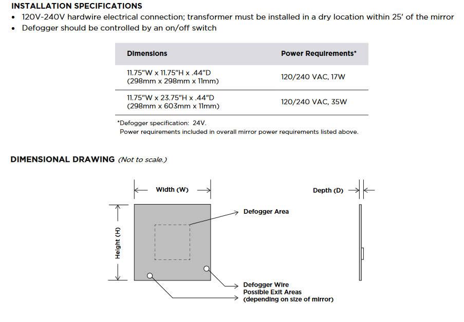 Aqua II Installation Summary